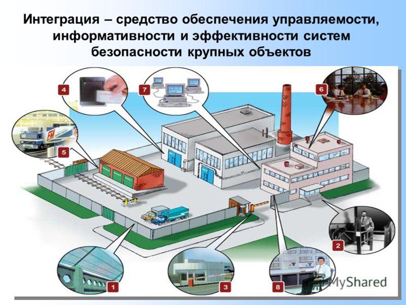 Интеграция – средство обеспечения управляемости, информативности и эффективности систем безопасности крупных объектов
