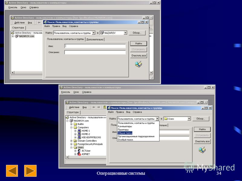 Операционные системы34