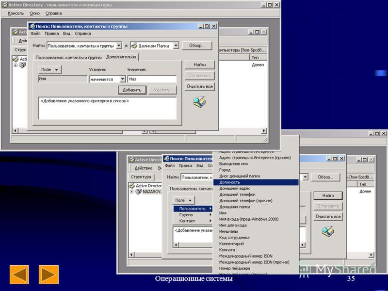 Операционные системы35