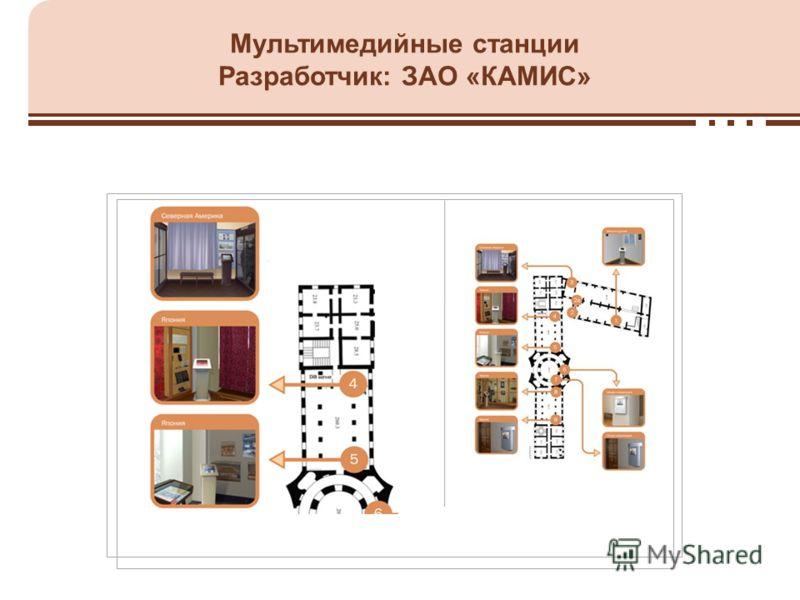 Мультимедийные станции Разработчик: ЗАО «КАМИС»