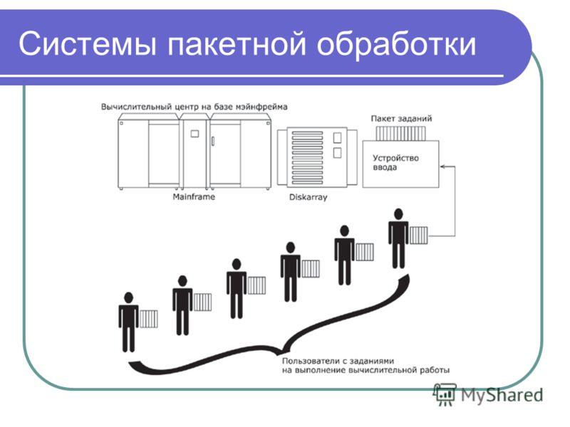 Системы пакетной обработки