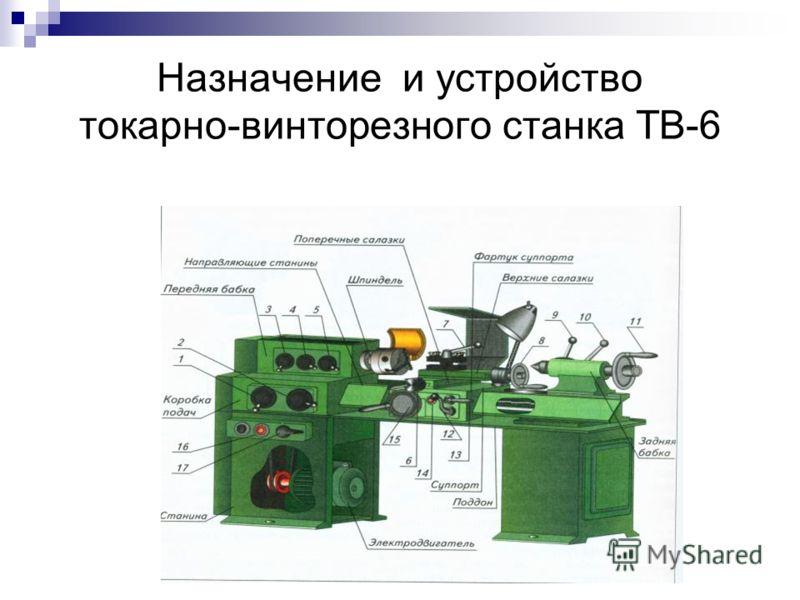 станка ТВ-6