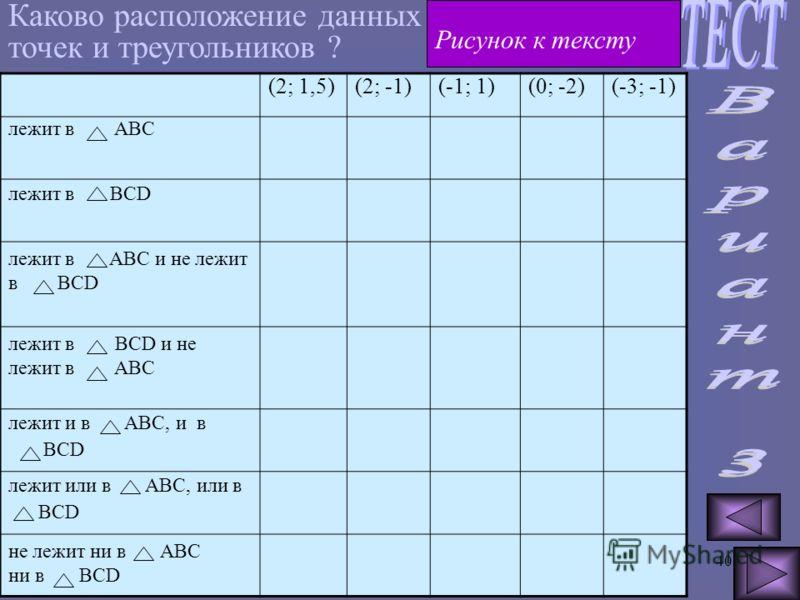 39 Y 4 3 2 1 -5-4-3-201234 X -2 -3 -4 d -5 -6 a b c