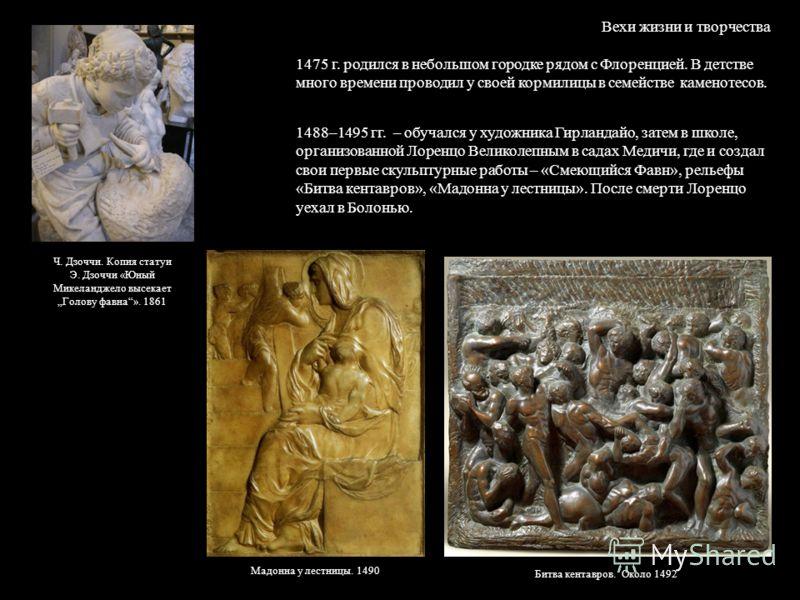 Презентация На Тему Микеланджело 7 Класс