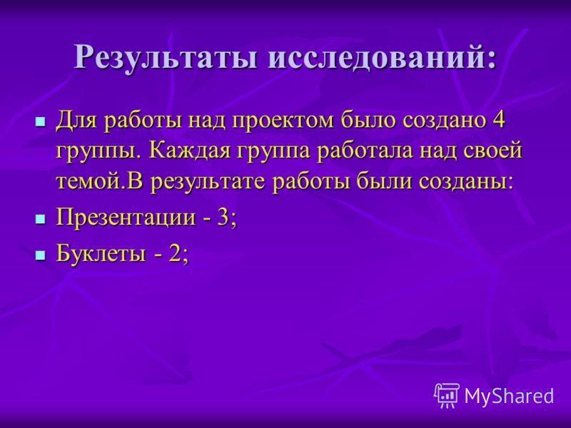 Этапы и сроки проведения проекта: 1. Лекция – 20мин. 2. Обсуждение тем исследований- 10мин. 3. Формирование групп для проведения исследований - 10мин. 4. Работа в группах ( сбор материала) - 20мин. 5. Решение задач - 20мин. 6. Защита проекта -1ч. Про