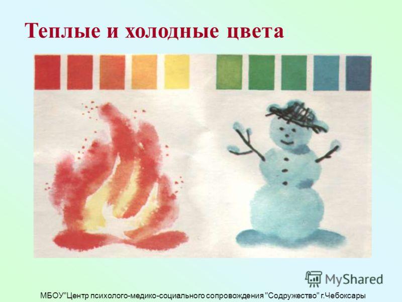 МБОУЦентр психолого-медико-социального сопровождения Содружество г.Чебоксары Теплые и холодные цвета