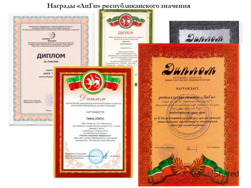 «ЛиГа» - лауреат IX Всероссийского конкурса школьных изданий - 2010