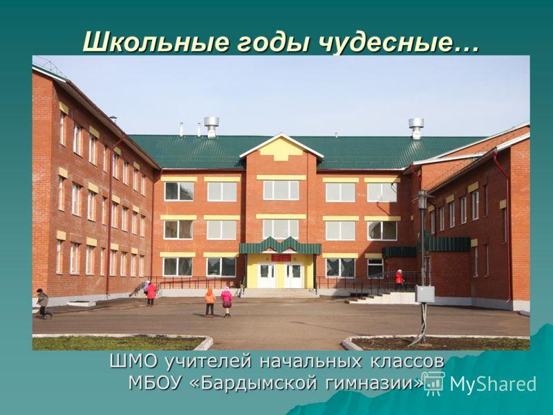 Школьные годы чудесные… ШМО учителей начальных классов МБОУ «Бардымской гимназии»