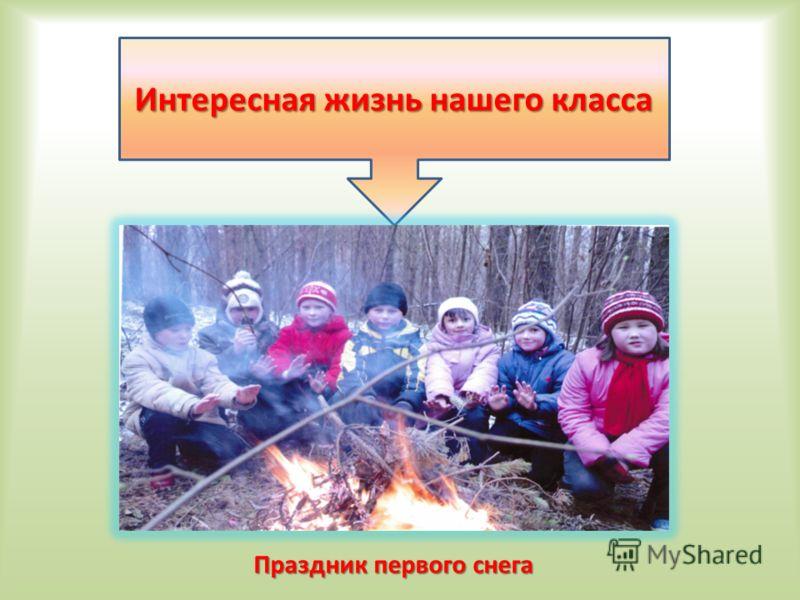 Интересная жизнь нашего класса Праздник первого снега