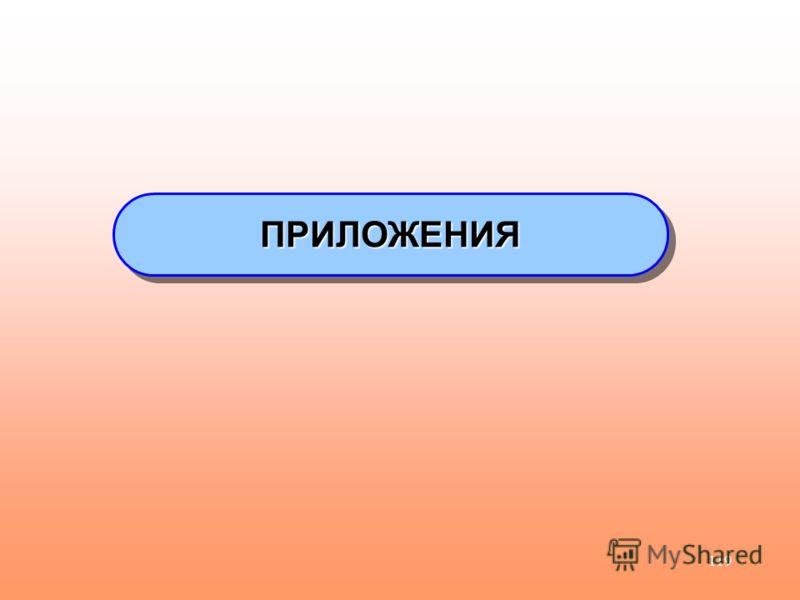 119 ПРИЛОЖЕНИЯПРИЛОЖЕНИЯ