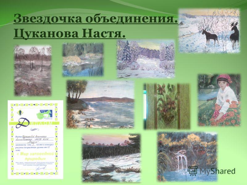 Звездочка объединения. Цуканова Настя.