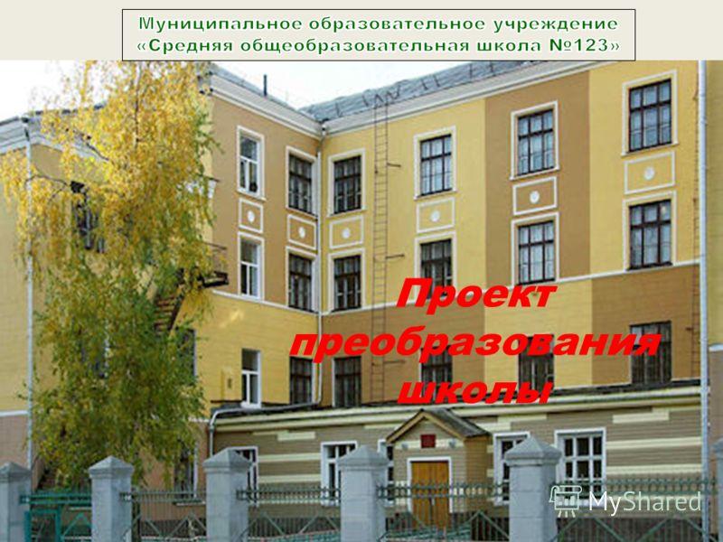 Проект преобразования школы