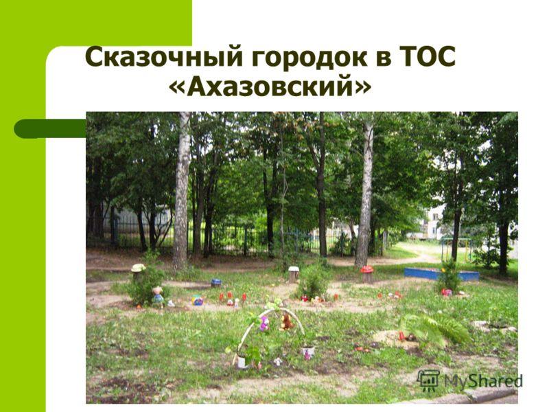 Сказочный городок в ТОС «Ахазовский»