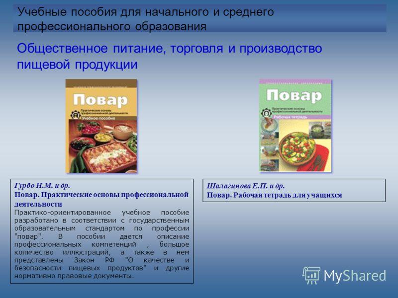 Технология Продуктов Общественного Питания Учебник Ратушный