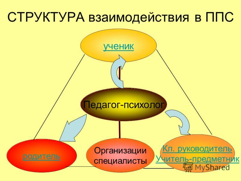 СТРУКТУРА взаимодействия в ППС
