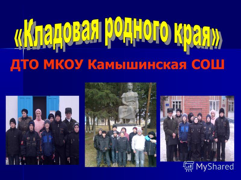 ДТО МКОУ Камышинская СОШ