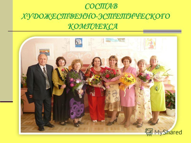 СОСТАВ ХУДОЖЕСТВЕННО-ЭСТЕТИЧЕСКОГО КОМПЛЕКСА