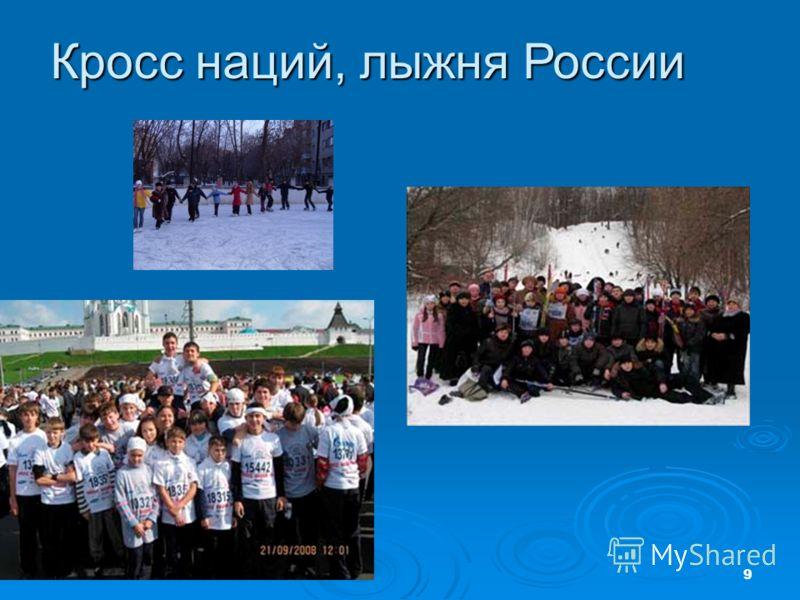9 Кросс наций, лыжня России