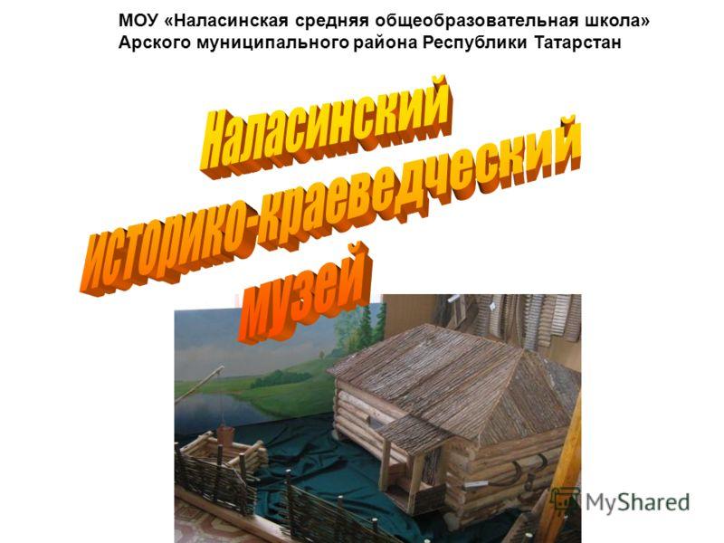 МОУ «Наласинская средняя общеобразовательная школа» Арского муниципального района Республики Татарстан
