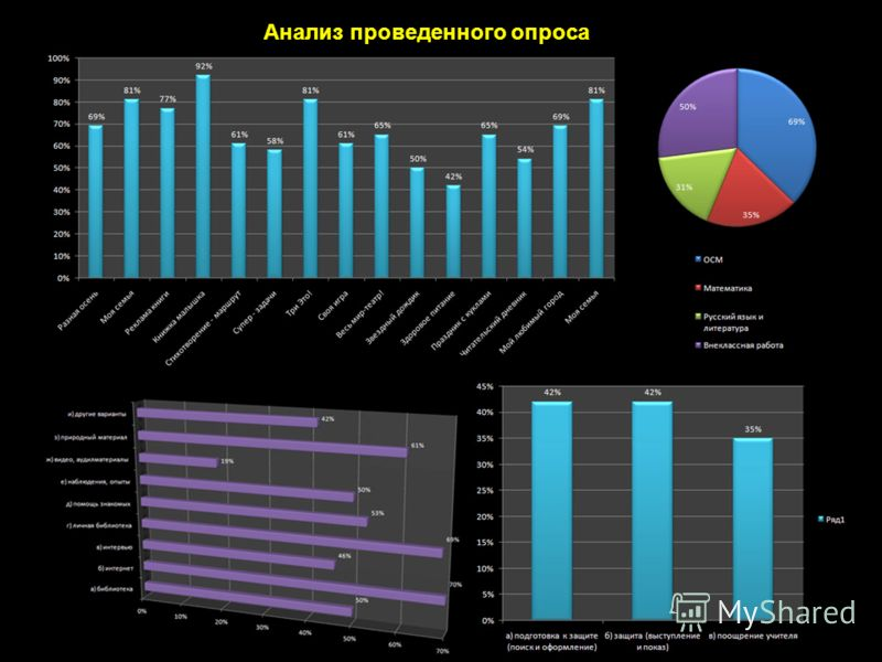 Анализ проведенного опроса