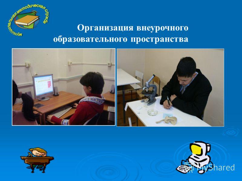 Организация внеурочного образовательного пространства
