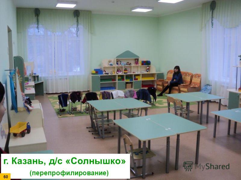 г. Казань, д/с «Солнышко» (перепрофилирование) 60