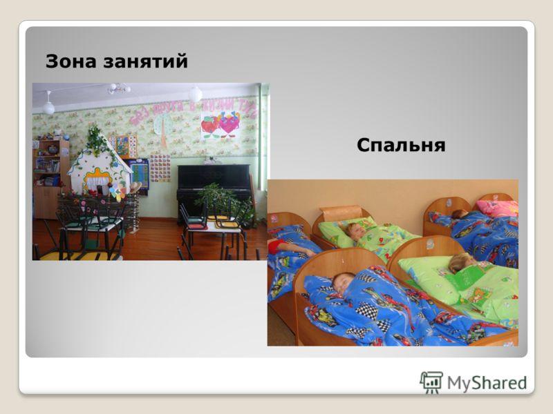 Зона занятий Спальня