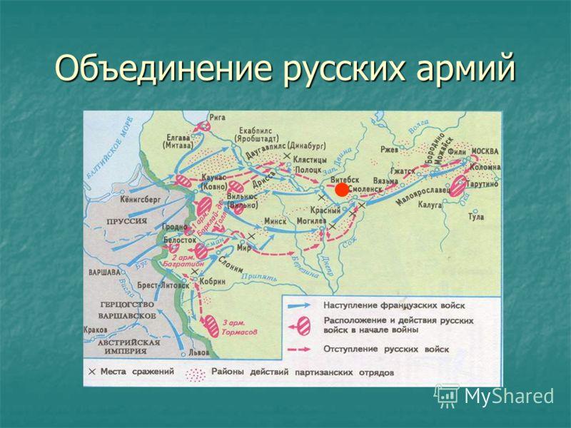 Объединение русских армий