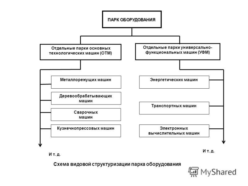 Схема видовой структуризации