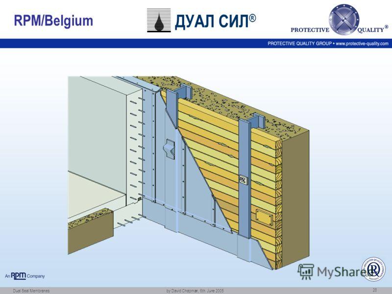 Dual Seal Membranes by David Chapman, 6th. June 2005 28 RPM/Belgium ДУАЛ СИЛ ®