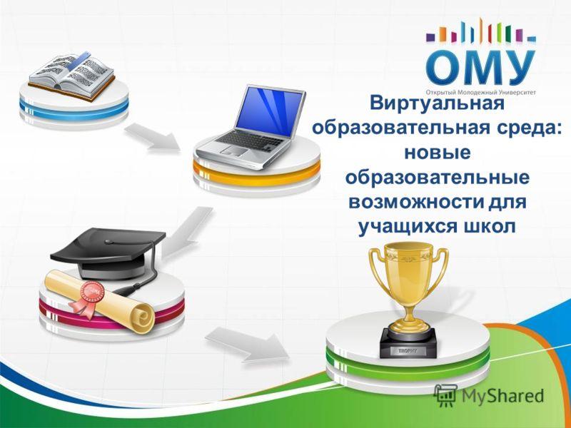 Виртуальная образовательная среда: новые образовательные возможности для учащихся школ