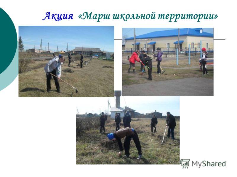Акция «Марш школьной территории»