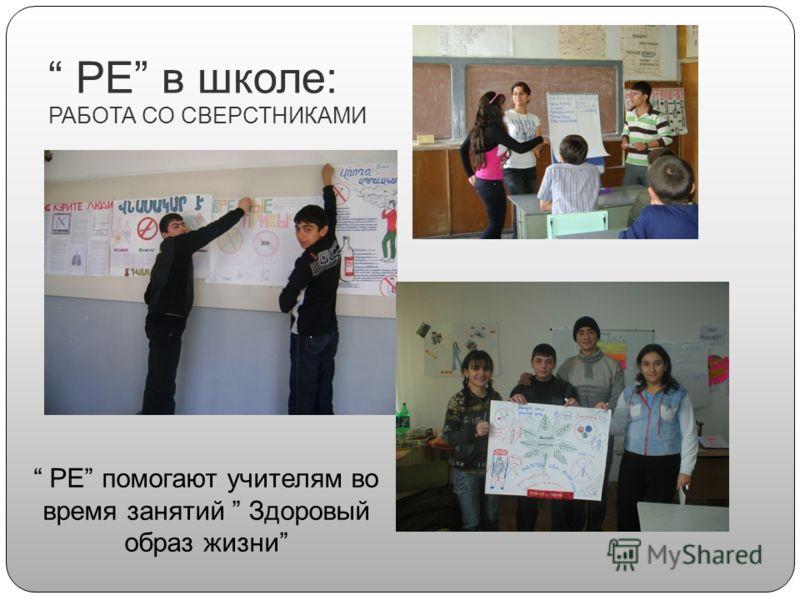 PE в школе: РАБОТА СО СВЕРСТНИКАМИ PE помогают учителям во время занятий Здоровый образ жизни