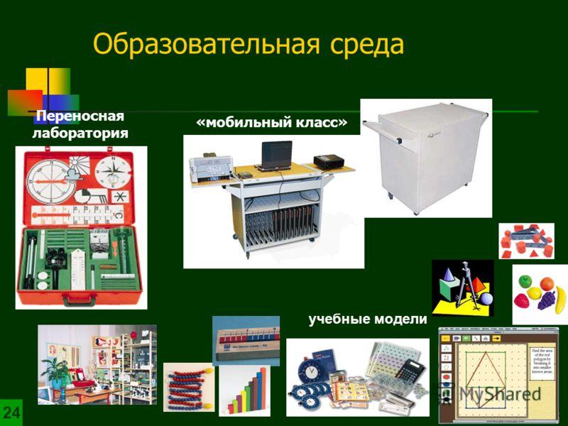 «мобильный класс» Переносная лаборатория учебные модели Образовательная среда 24