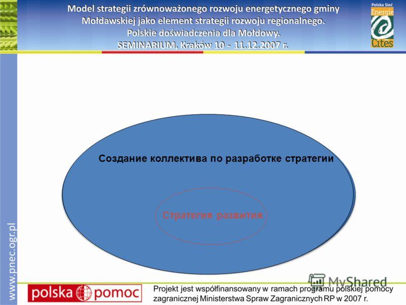стратегия развития Создание коллектива по разработке стратегии Стратегия развития