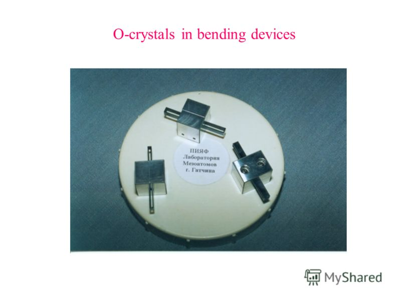 O-crystals in bending devices