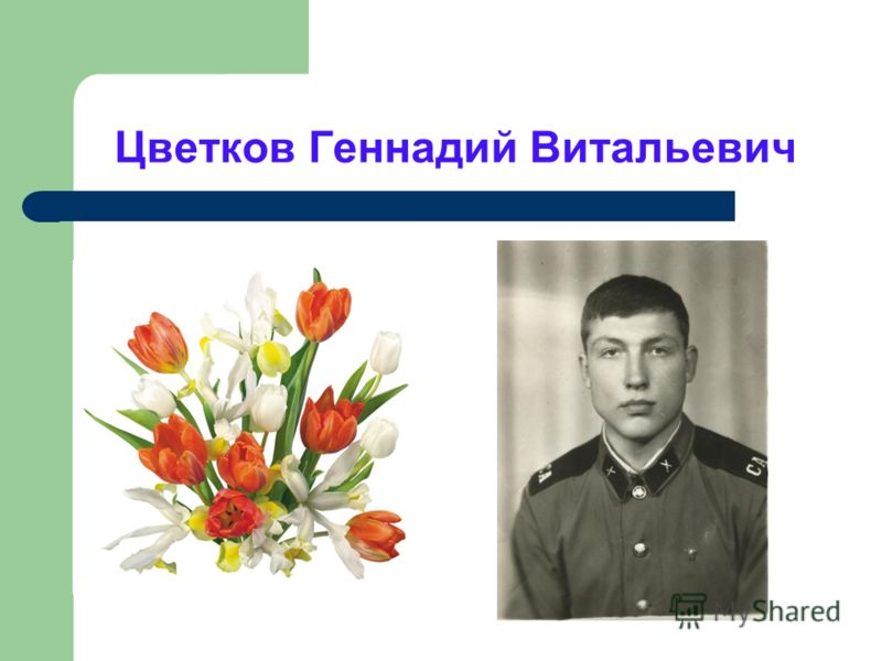 Цветков Геннадий Витальевич