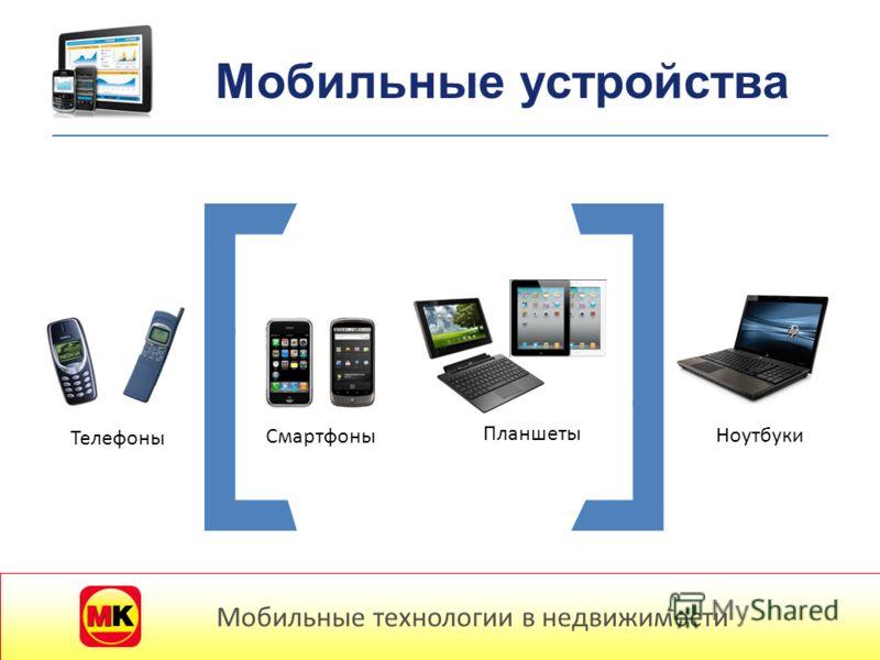 Телефоны Смартфоны Планшеты Ноутбуки Мобильные устройства Мобильные технологии в недвижимости