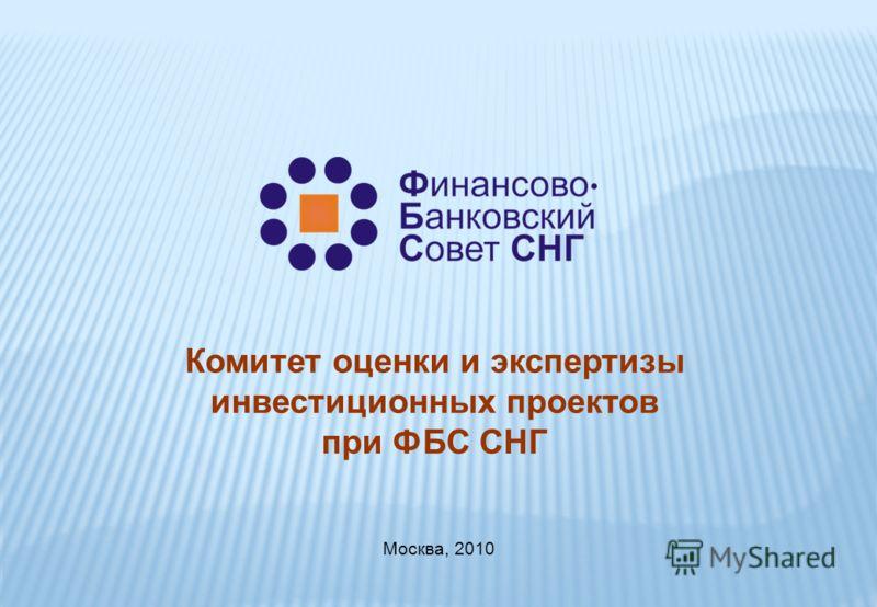 Комитет оценки и экспертизы инвестиционных проектов при ФБС СНГ Москва, 2010