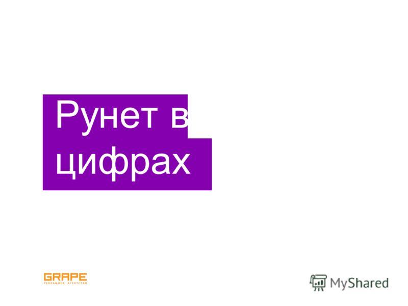 Рунет в цифрах