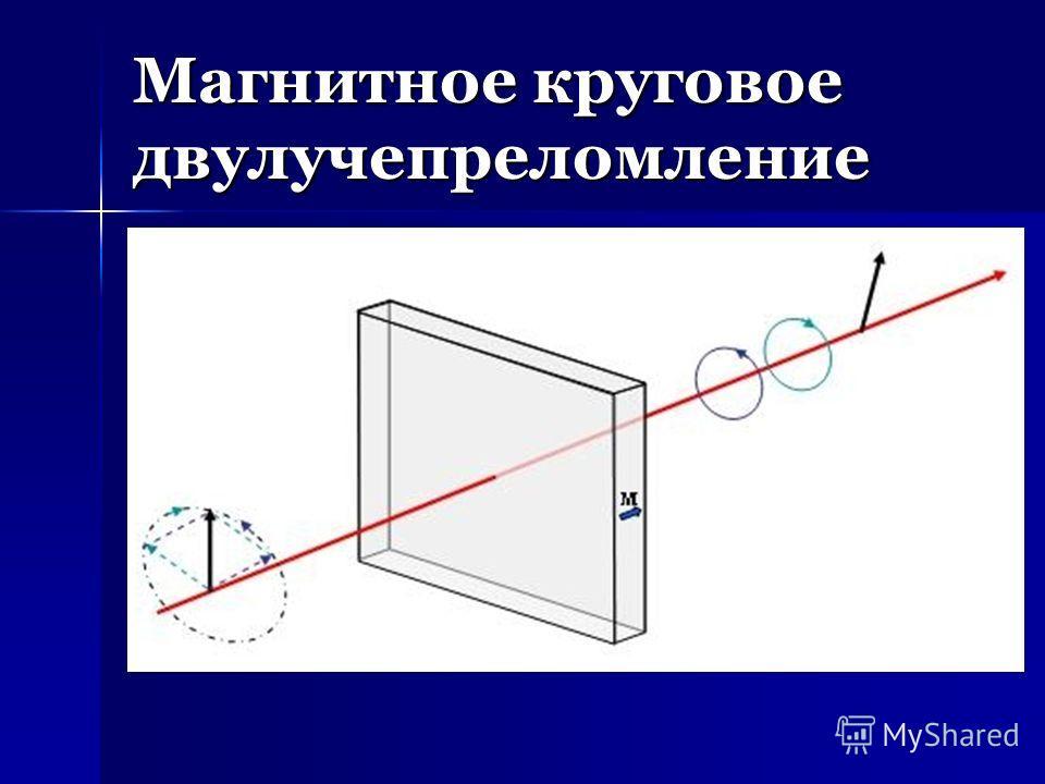 Магнитное круговое двулучепреломление
