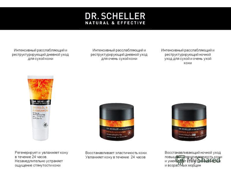 Интенсивный расслабляющий и реструктурирующий дневной уход для сухой кожи Интенсивный расслабляющий и реструктурирующий дневной уход для очень сухой кожи Интенсивный расслабляющий и реструктурирующий ночной уход для сухой и очень ухой кожи Регенериру