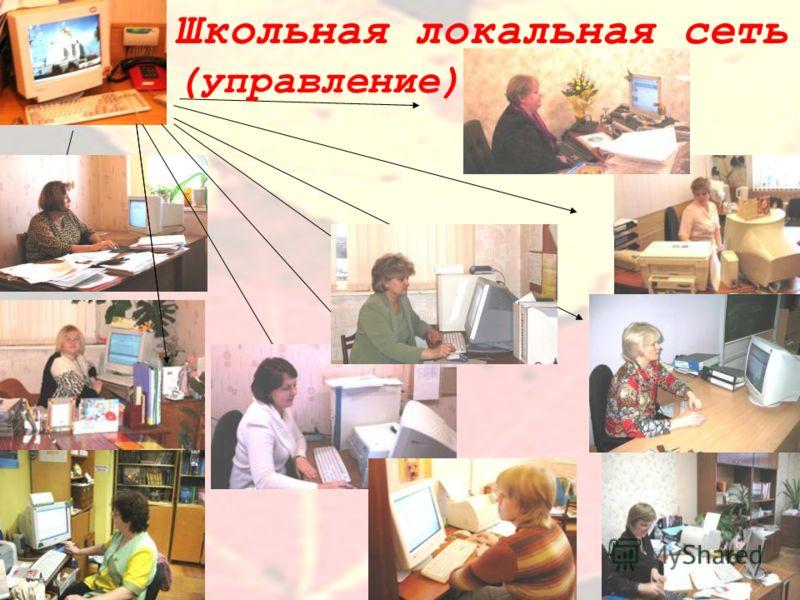 Школьная локальная сеть (управление)