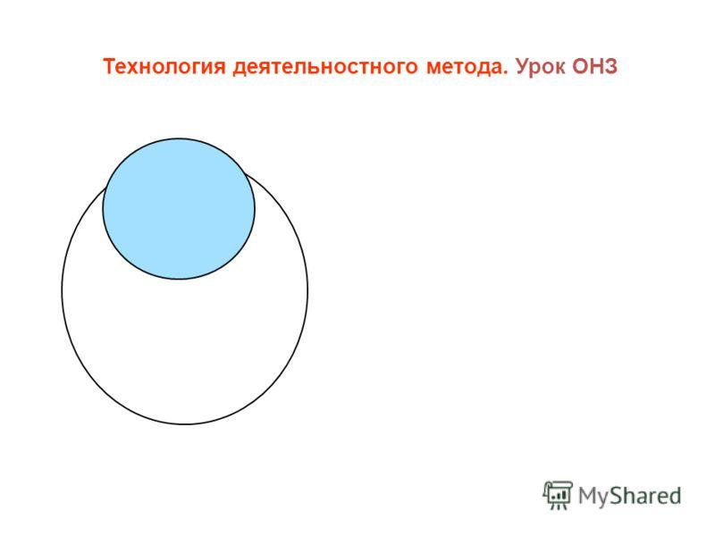 Технология деятельностного метода. Урок ОНЗ