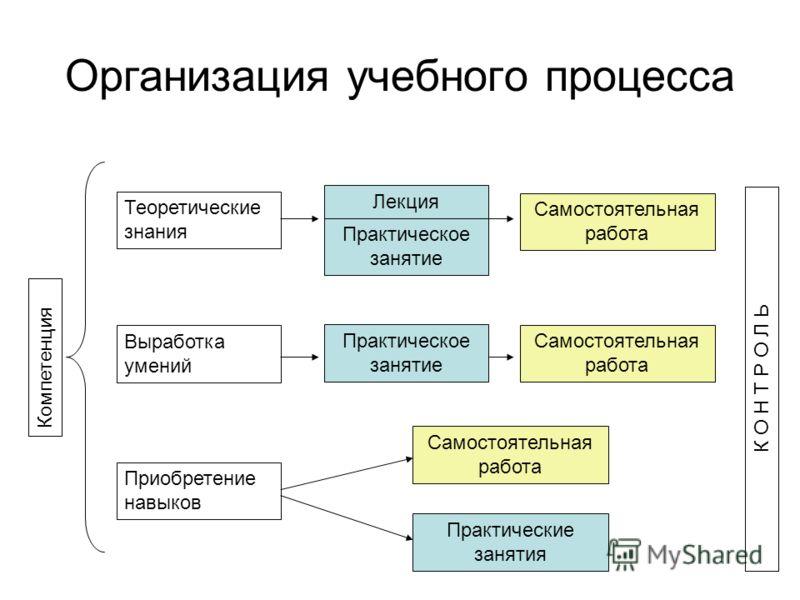Структура практического занятия схема