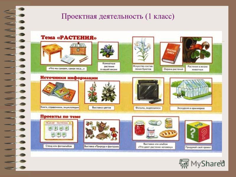 35 Проектная деятельность (1 класс)