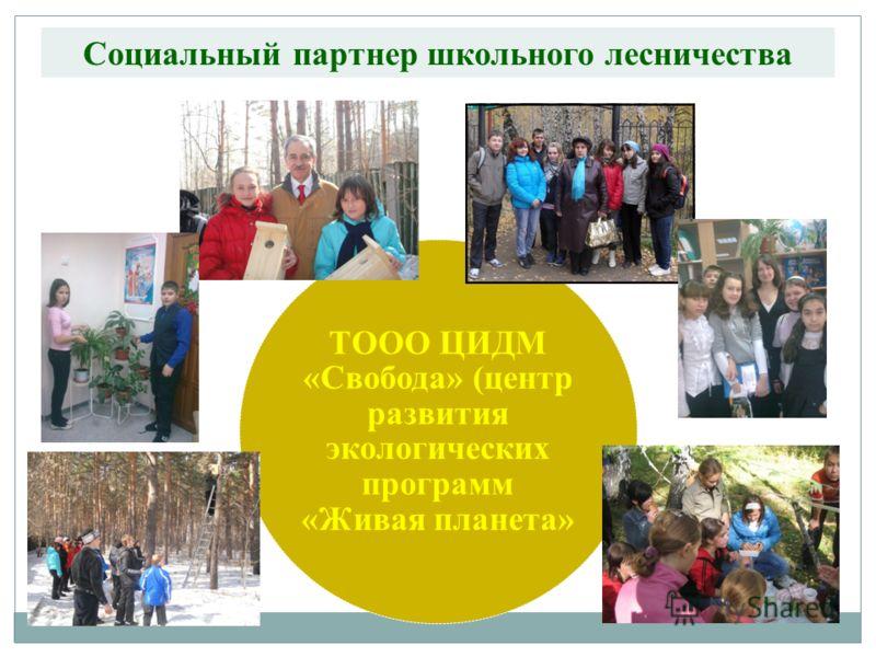 Социальный партнер школьного лесничества