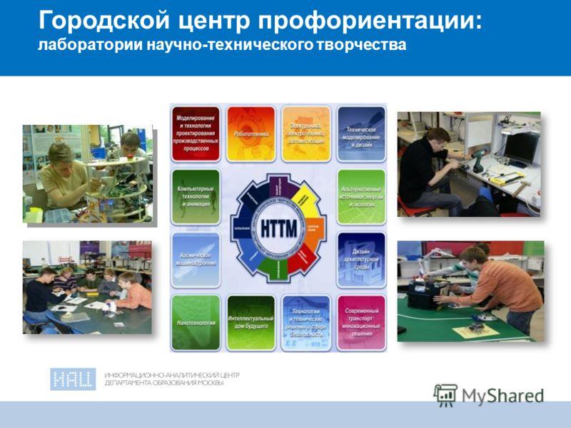 19 Городской центр профориентации: лаборатории научно-технического творчества