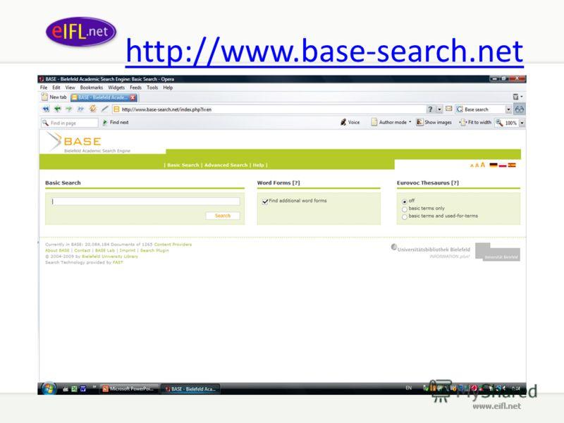 http://www.base-search.net