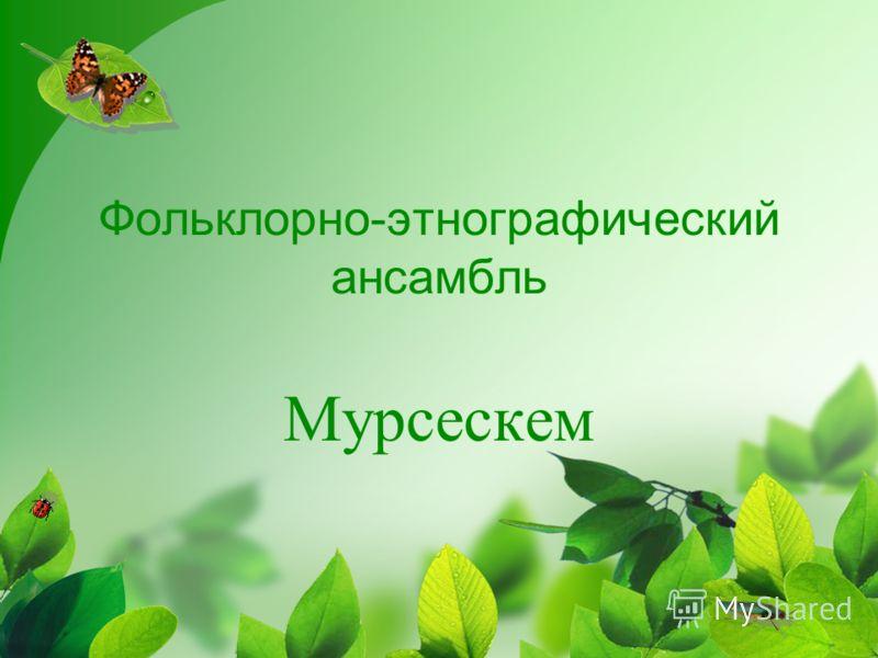 Фольклорно-этнографический ансамбль Мурсескем